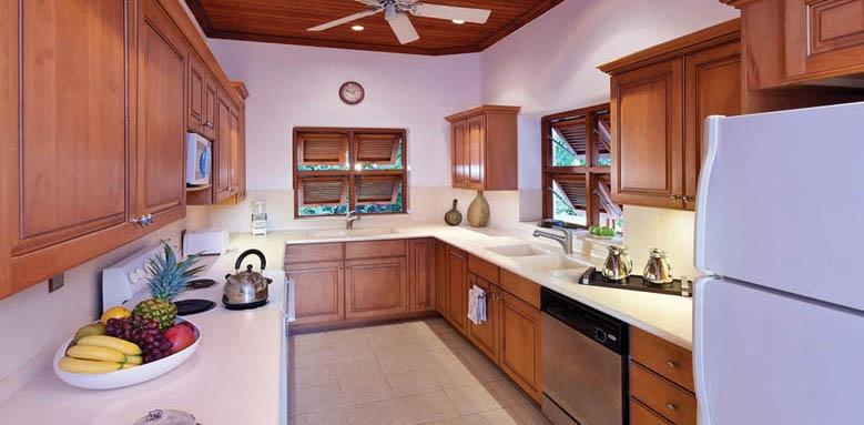 Blue Point, kitchen