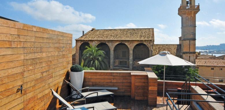 Santa Clara Urban Hotel & Spa, roof terrace