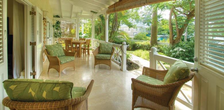 Little Good Harbour, two bedroom garden suite terrace