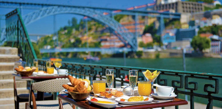 Pestana Vintage Porto, breakfast