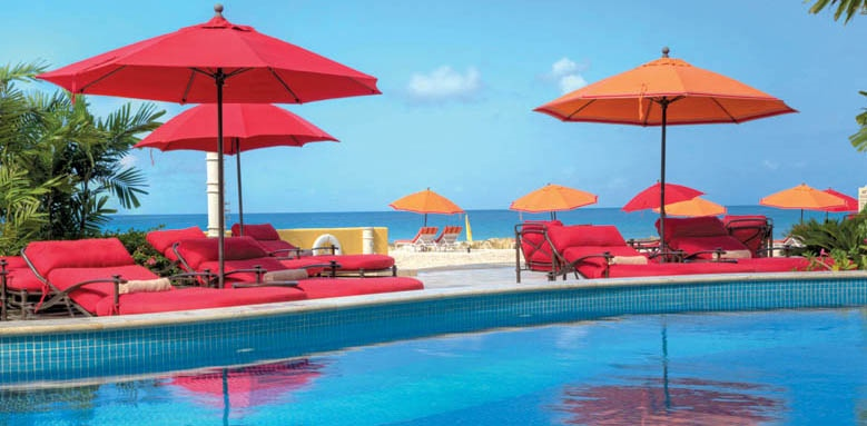 Ocean Two Resort and Residences, pool and loungers