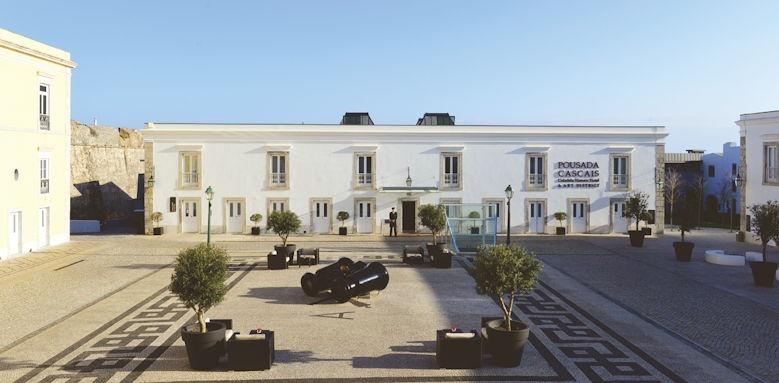 Palacio dos Arcos, exterior
