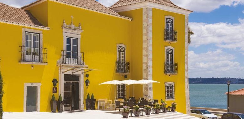 Palacio dos Arcos, exterior & terrace