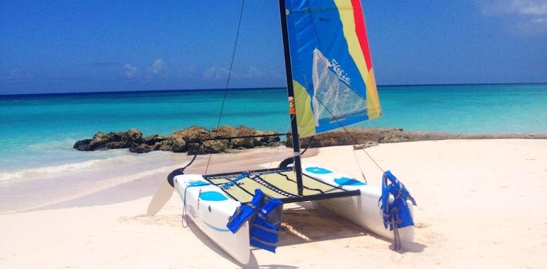 Sea Breeze, boat on beach