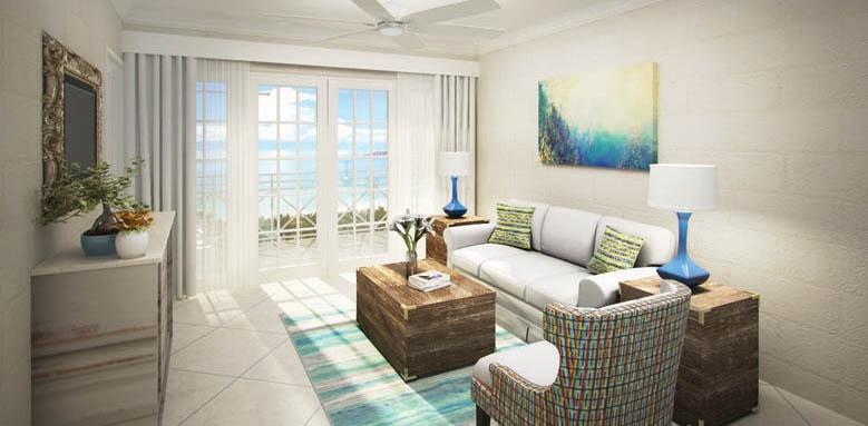 treasure beach, living room