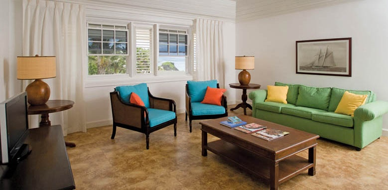 The Atlantis Hotel, suite living room