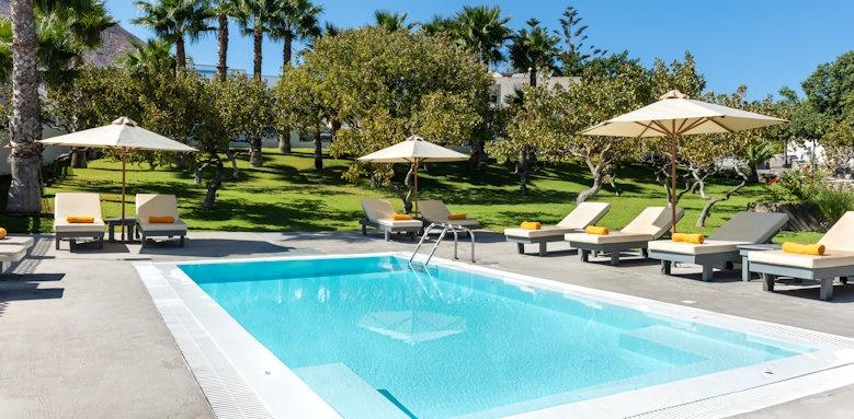 Santorini Kastelli Resort, Pistachio pool