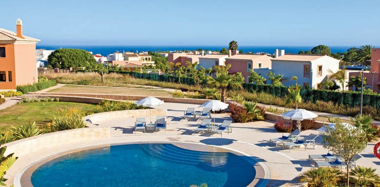 Monte Santo Resort, pool and sea view