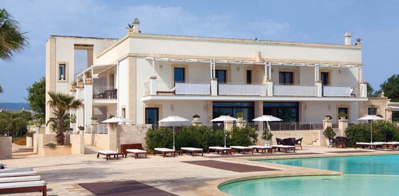 Canne Bianche Lifestyle & Hotel, exterior and pool terrace