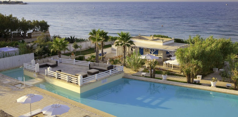Canne Bianche, Pool & Sea View Image