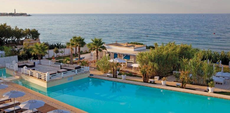 Canne Bianche Lifestyle & Hotel, pool and sea view