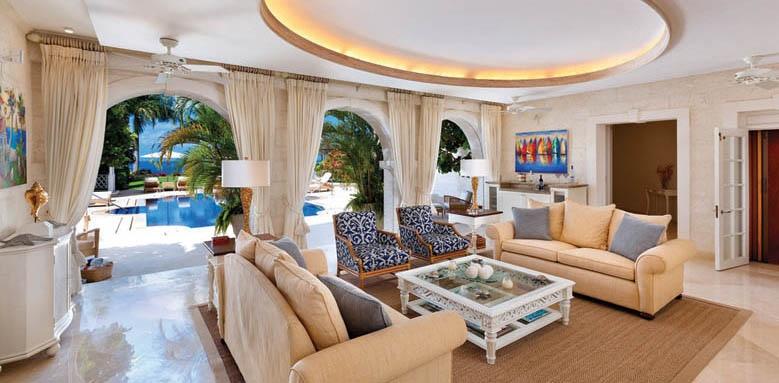 Illusion, poolside sitting room