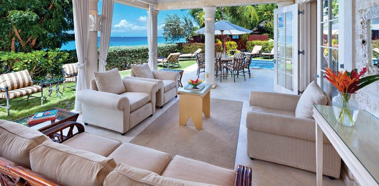 Westhaven, outdoor living area