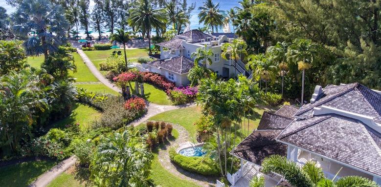 coral reef club, hotel gardens