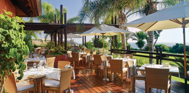 Tagor' Villas at The Ritz-Carlton, Abama, el mirador terrace