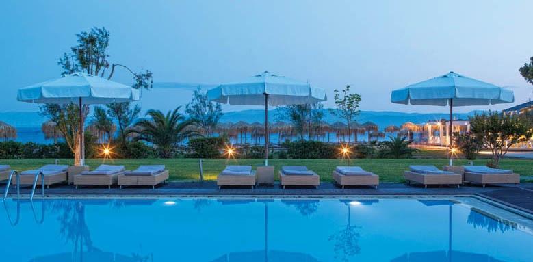 Skiathos Princess Hotel, pool at night