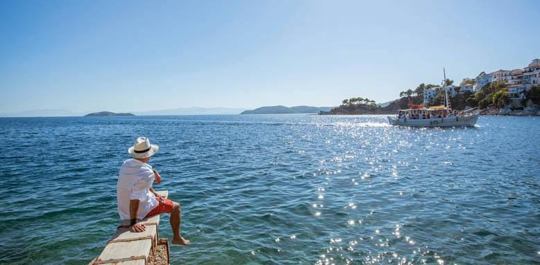Skiathos Princess Hotel, sea view