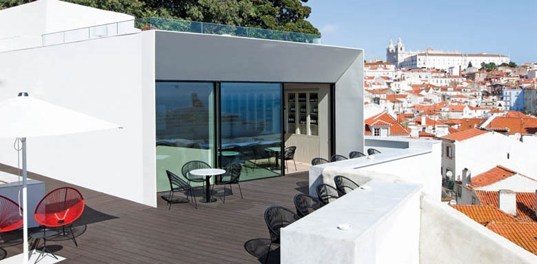 Memmo Alfama, roof terrace