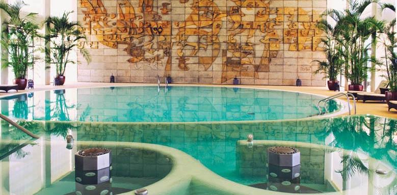 Crowne Plaza, spa pool