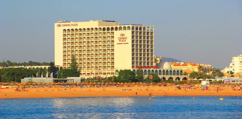 Crowne Plaza, view from sea