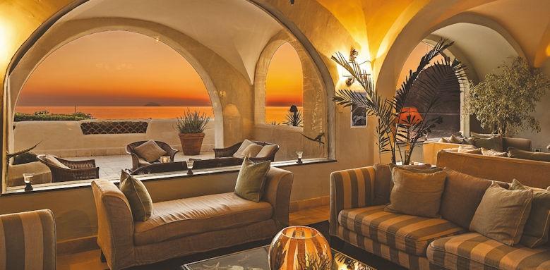 Therasia Resort, lobby