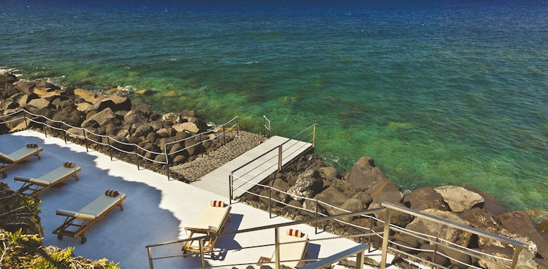 Therasia Resort, sea view