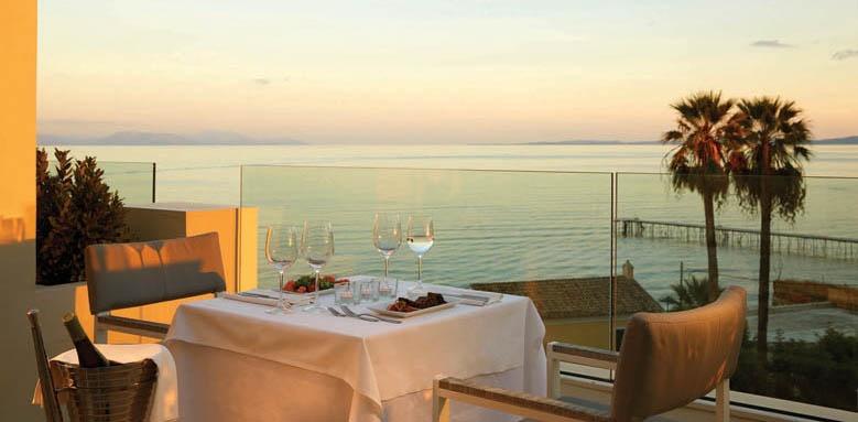 Mayor Mon repos Palace, sunset terrace