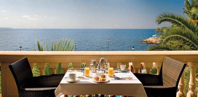 Barcelo Illetas Albatros, breakfast & sea view