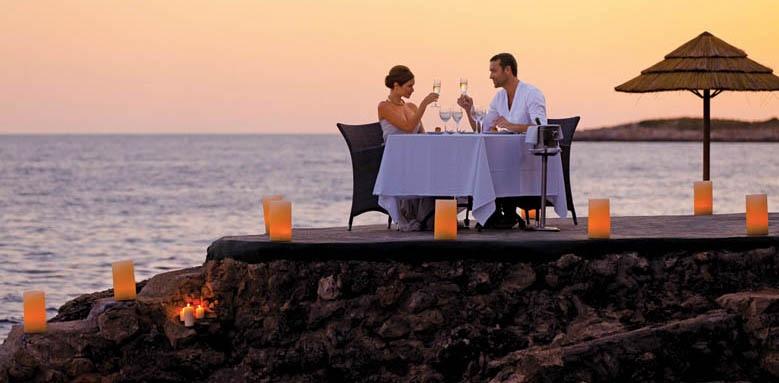 Barcelo Illetas Albatros, sunset dinner