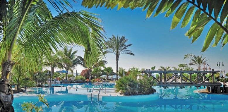 Sheraton la caleta, pool and trees