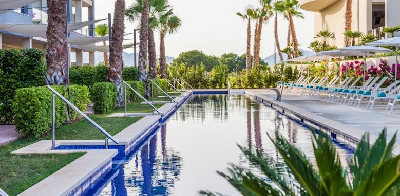 Zafiro Palace Alcudia, swim up pool