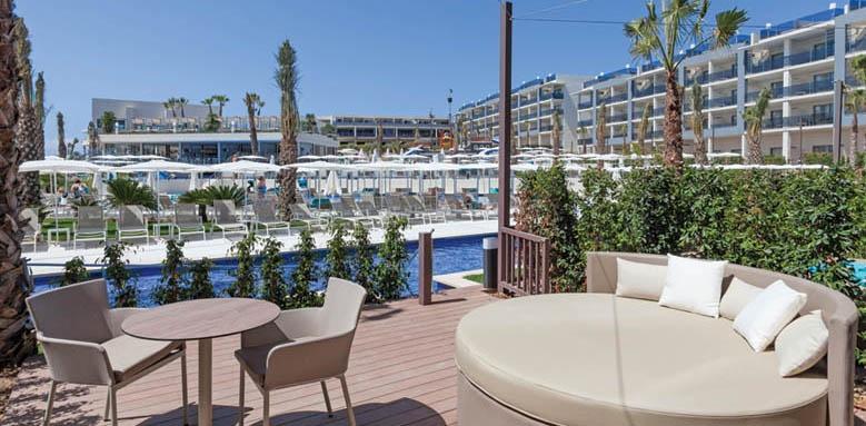 Hotel Viva Zafiro Alcudia & Spa, swim up terrace