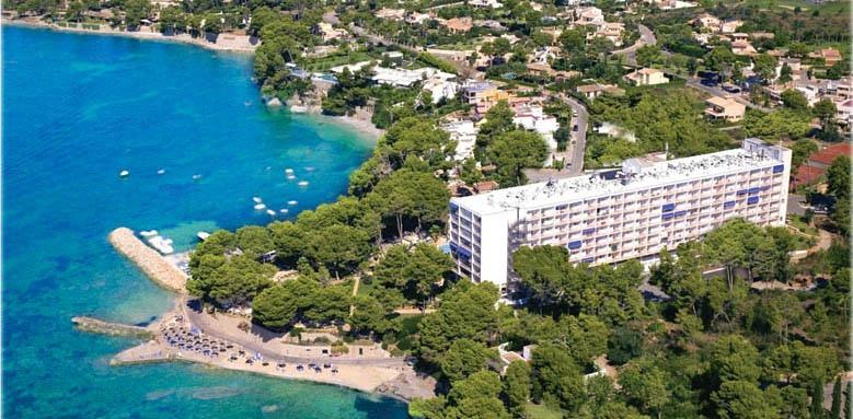 Hipotels Eurotel Punta Rotja & Spa Hotel, aerial view