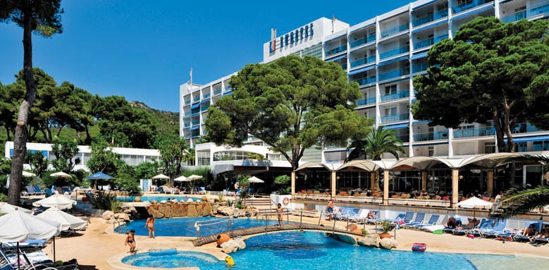Hipotels Eurotel Punta Rotja & Spa Hotel, pool & exterior