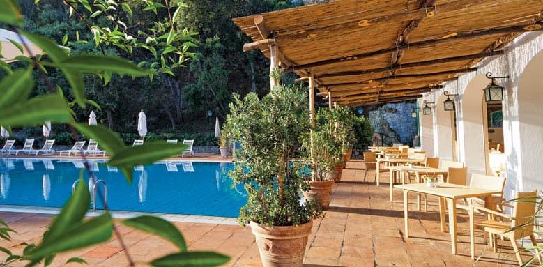 Garden & Villa Resort, restaurant at breakfast
