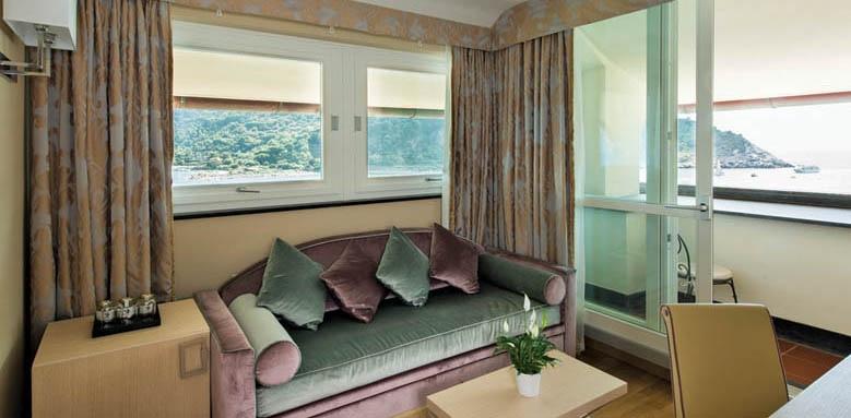 Grand Hotel Portovenere, junior suite sitting area