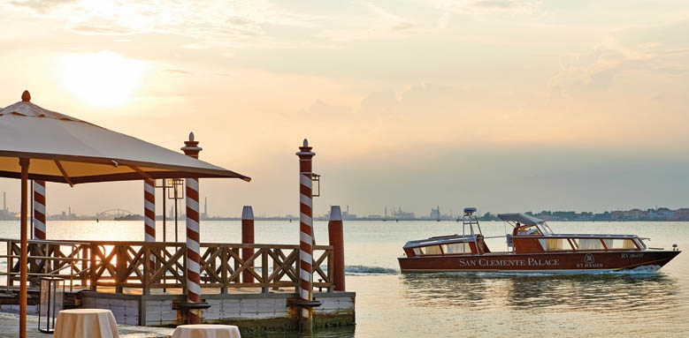 San Clemente Palace Kempinski Venice, boat service