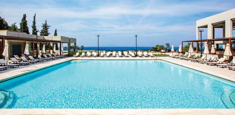 sheraton rhodes resort, 6th floor pool