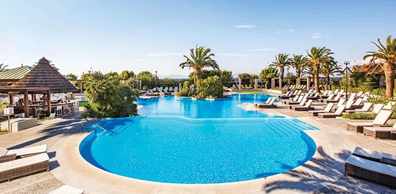 sheraton rhodes resort, main pool