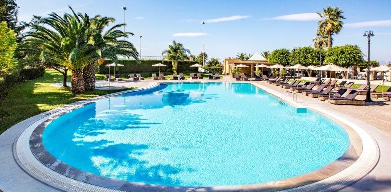 Sheraton Rhodes Resort, first floor pool