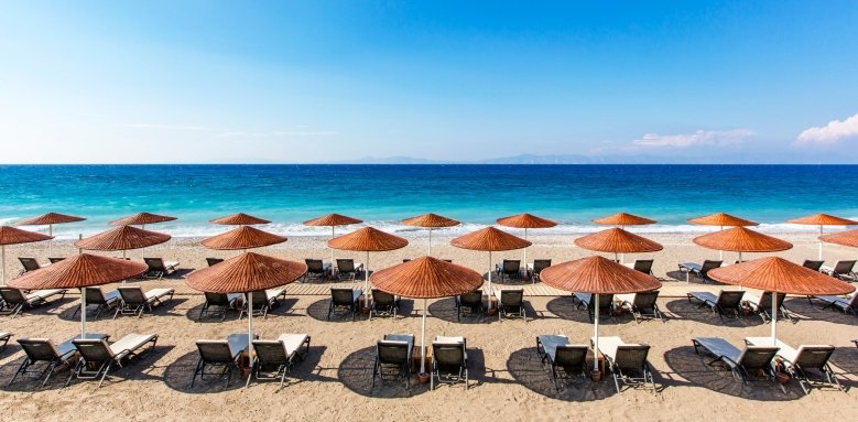 Sheraton Rhodes Resort, beach