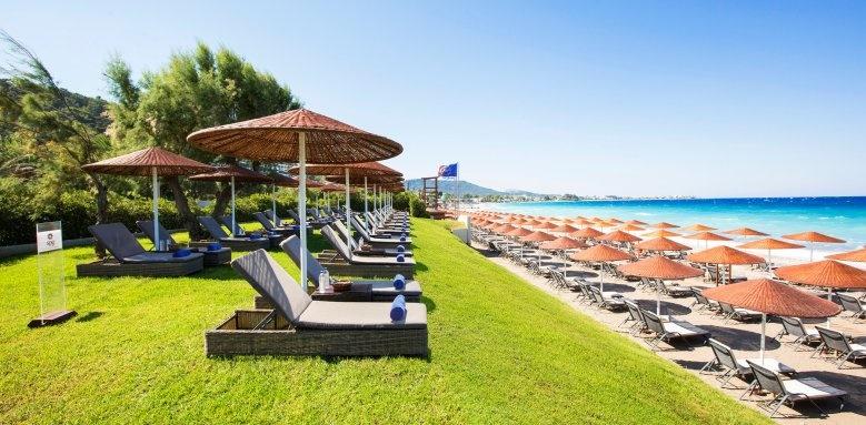 Sheraton Rhodes Resort, gold platinum area