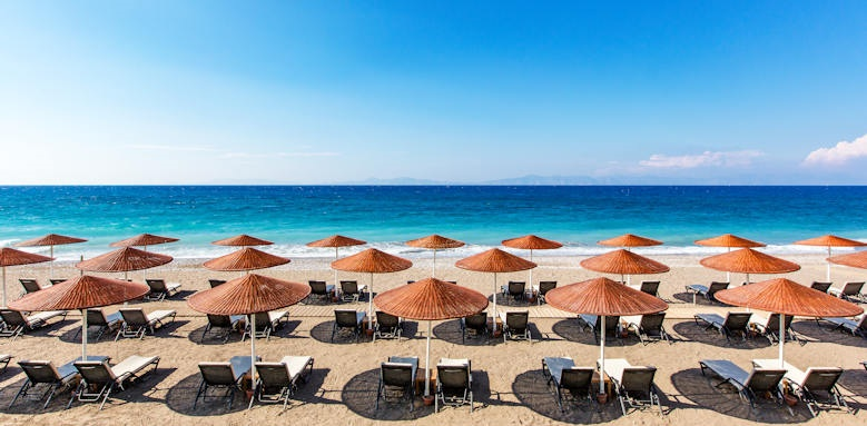 Sheraton Rhodes Resort, beach