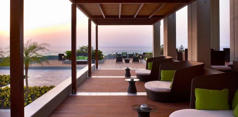 Sheraton Rhodes Resort, lounge bar exterior