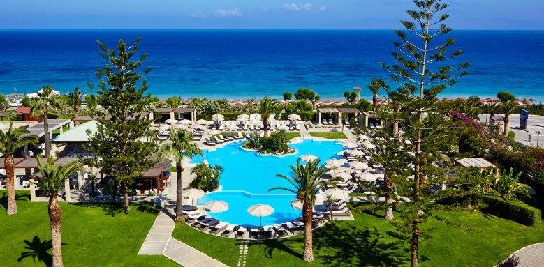Sheraton Rhodes Resort, main pool and ocean