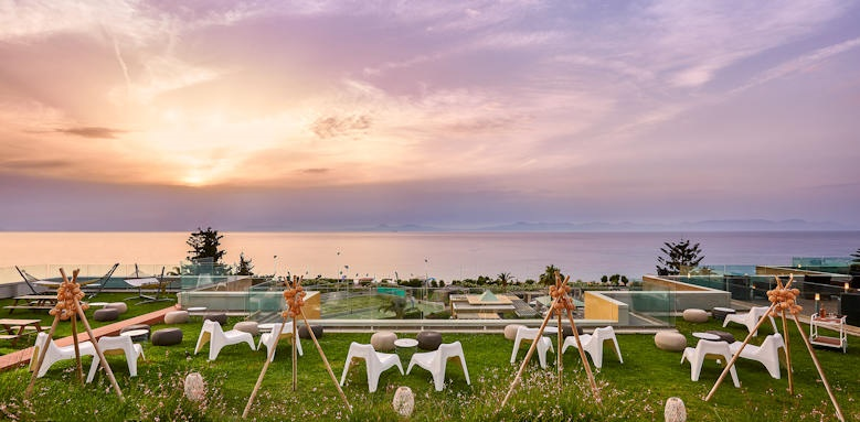 Sheraton Rhodes Resort, sunset