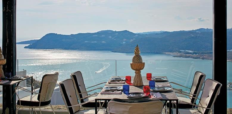 Myconian Avaton Resort, Restaurant