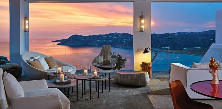Myconian Avaton Resort, Lounge View
