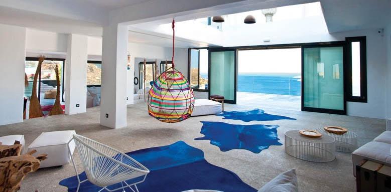 Myconian Avaton Resort, lobby