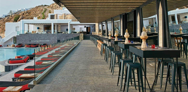 Myconian Avaton Resort, Bar